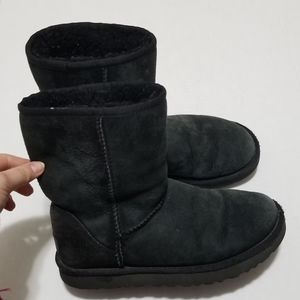 UGG 7 Sheepskin Suede Leather Classic Calf Boots